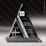 Crystal Clear Aztec Trophy Award Crystal-D Series Crystal Trophy Awards