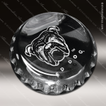 Crystal Clear Bottle Cap Paperweight Trophy Award Crystal-D Series Crystal Trophy Awards