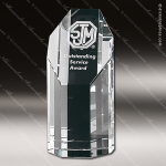 Crystal Clear Amherst Trophy Award Crystal-D Series Crystal Trophy Awards
