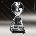 Crystal Clear Global Pyramid Trophy Award Crystal-D Series Crystal Trophy Awards