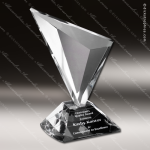 Crystal Clear Genesis Trophy Award Crystal-D Series Crystal Trophy Awards