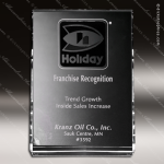 Crystal Clear Vertical Wedge Trophy Award Crystal-D Series Crystal Trophy Awards