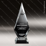 Crystal Clear Solitaire Trophy Award Crystal-D Series Crystal Trophy Awards