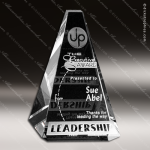 Crystal Clear Vantage Summit Trophy Award Crystal-D Series Crystal Trophy Awards
