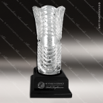 Crystal Cup Black Accented Royal Glass Vase Trophy Award Crystal Series Cup Trophy Awards
