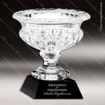 Crystal Cup Black Accented Vase Trophy Award Crystal Series Cup Trophy Awards