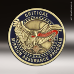 Custom Die Struck Challenge Coins or Emblems Custom Coins / Emblems