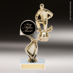 Coach with Mylar Award Customize Your Own Riser Trophies
