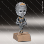 Kids Resin Bobble Head Jr Series Dance Trophy Awards Dance Trophy Awards