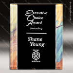 Engraved Acrylic Plaque Red Artistic Multicolored Award Designer Acrylic Plaques