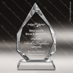Crystal  Diamond Trophy Award Diamond Shaped Crystal Awards