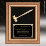 Engraved Walnut Plaque Gavel Framed Engraved Wall Plaque Award Dick's Trophies | Crystal Awards | Plaques | Corporate Gifts | Custom Engraving | Artistic Glass