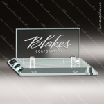 Engraved Glass Business Card Holder Jade Desk Gift Dick's Trophies | Crystal Awards | Plaques | Corporate Gifts | Custom Engraving | Artistic Glass