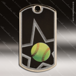 Medallion Star Series Dog Tag Softball Medal Dog Tag Medals