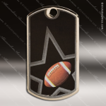 Medallion Star Series Dog Tag Football Medal Dog Tag Medals