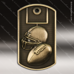 Medallion Dog Tag 3-D Series Football Medal Dog Tag Medals