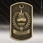 Medallion Dog Tag 3-D Series Participant Medal Dog Tag Medals