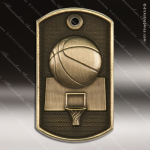 Medallion Dog Tag 3-D Series Basketball Medal Dog Tag Medals