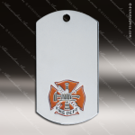 Medallion Silver Series Dog Tag Fire Department Medal Dog Tag Medals