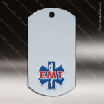 Medallion Silver Series Dog Tag EMT Medal Dog Tag Medals