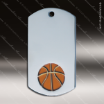 Medallion Silver Series Dog Tag Basketball Medal Dog Tag Medals