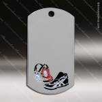 Medallion Silver Series Dog Tag Wrestling Medal Dog Tag Medals