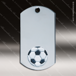 Medallion Silver Series Dog Tag Soccer Medal Dog Tag Medals