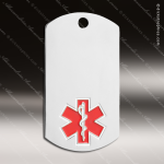 Medallion Silver Series Dog Tag Medical Alert Medal Dog Tag Medals
