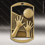Medallion Dog Tag Series Volleyball Medal Dog Tag Medals