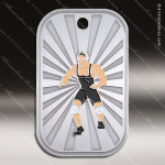 Medallion GI Series Dog Tag Wrestling Medal Dog Tag Medals