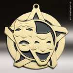 Medallion Super Star Series Drama Medal Drama Medals