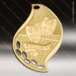 Medallion Gold Flame Series Scholastic Drama Medal Drama Medals