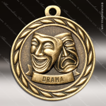 Medallion Sculpted Series Drama Medal Drama Medals