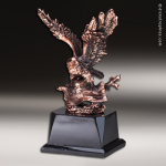 Premium Resin Bronze American Eagle Flight Trophy Award Eagle Trophy Awards