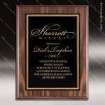Engraved Economy Plaque Roman Edge Black Plate Wall Placard Award Economy Finish Plaques