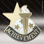Lapel Pin - Achievement Academic Metal Chenille Letter Insignia Elementary School Lapel Pins