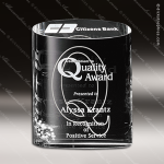 Crystal Clear Ovation Trophy Award Employee Trophy Awards