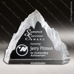 Crystal Clear Matterhorn Trophy Award Employee Trophy Awards