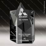 Crystal Clear Mega Star Trophy Award Employee Trophy Awards