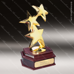 Traditional Gold 24K Constellation Star Trophy Award Employee Trophy Awards