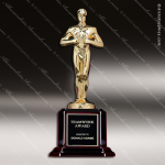 Traditional Gold Classic Achievement Trophy Award Employee Trophy Awards