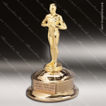 Traditional Gold Deluxe Classic Achievement Trophy Award Employee Trophy Awards