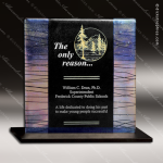 Artistic Multi Color Realizing Winter Frost Trophy Award Employee Trophy Awards