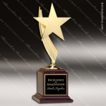 Star Casting in Gold Tone Finish Employee Trophy Awards