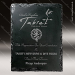 Engraved Stone Plaque Stonecast Slate Award Employee Trophy Awards