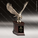 Traditional Bronze Majestic Eagle Trophy Award Employee Trophy Awards