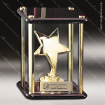 Star In Glass Box Employee Trophy Awards