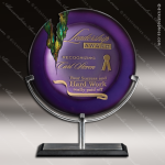 Viola Amethyst Employee Trophy Awards