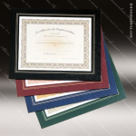 Leatherette Frame Certificate Holder Employee Trophy Awards