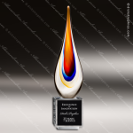 Artistic Glass Caledon Torchier Trophy Award Employee Trophy Awards